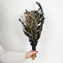 Load image into Gallery viewer, Large Dried Flower Bouquet - Denim