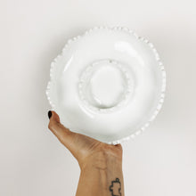 Load image into Gallery viewer, White Milk Glass Hob Nail Ashtray