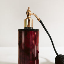 Load image into Gallery viewer, Tortoise Perfume Bottle with Brass Detailing
