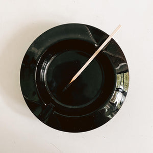 Black Amethyst Ashtray