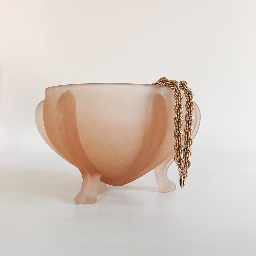 Frosted Pink Catchall