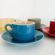 Load image into Gallery viewer, Set of 6 Multi Colored Espresso Cups