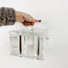 Load image into Gallery viewer, Vintage Lucite Ice Bucket