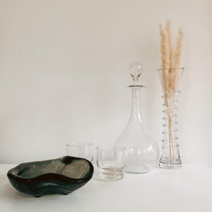 Clear Glass Decanter - Made Im France