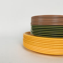 Load image into Gallery viewer, Set of 4 Melamine Yellow plates