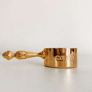 Gold Coffee Scoop