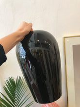 Load image into Gallery viewer, Big Black Ceramic Vase