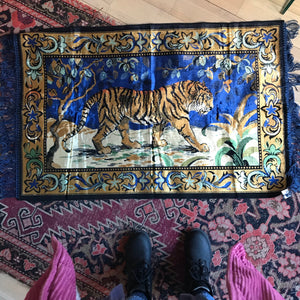 Tiger Carpet Wall Hanging
