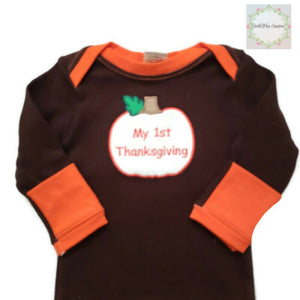 My 1st Thanksgiving Sleepgown