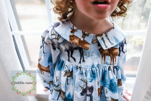 Snowy Woodlands Dress Set