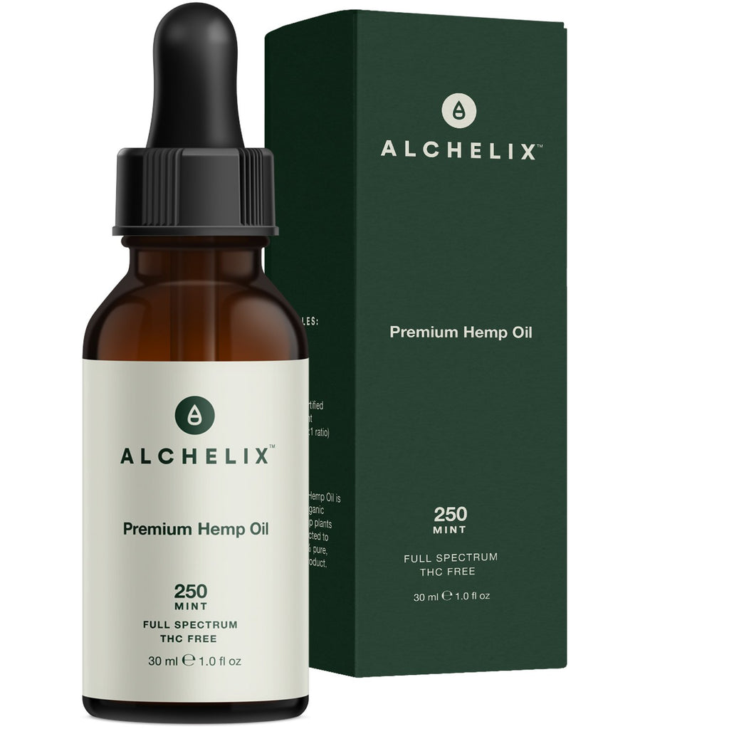 Alchelix Premium, Vegan All Natural Hemp | 250mg | 1oz.