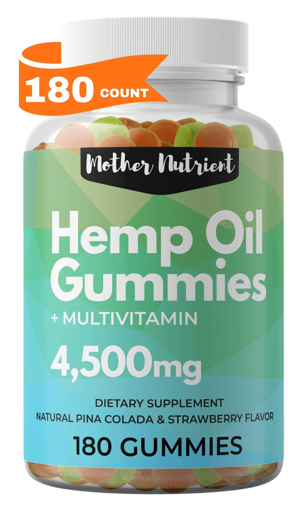 Hemp Gummies + Multivitamin | 25mg/gummy | 180ct.