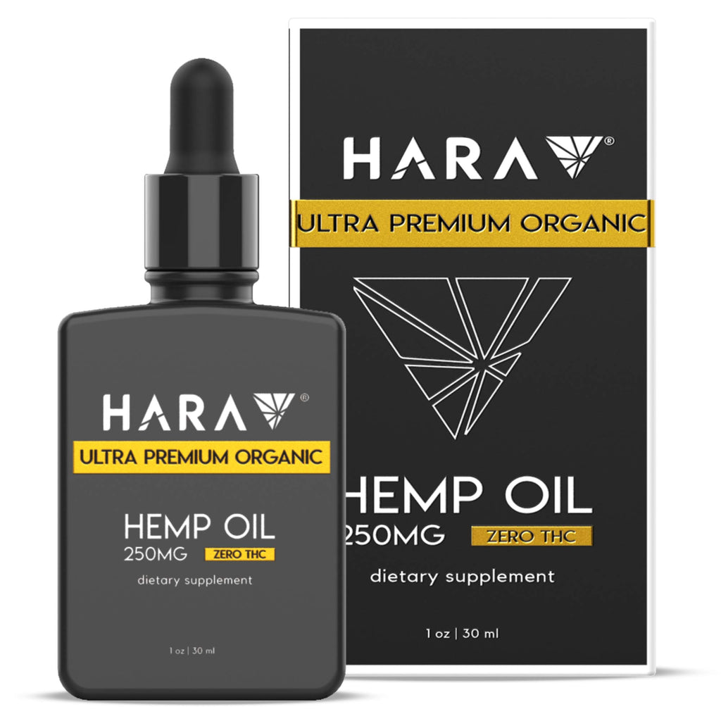 Hara 100% Pure Hemp Oil Extract | 250mg | 1oz.