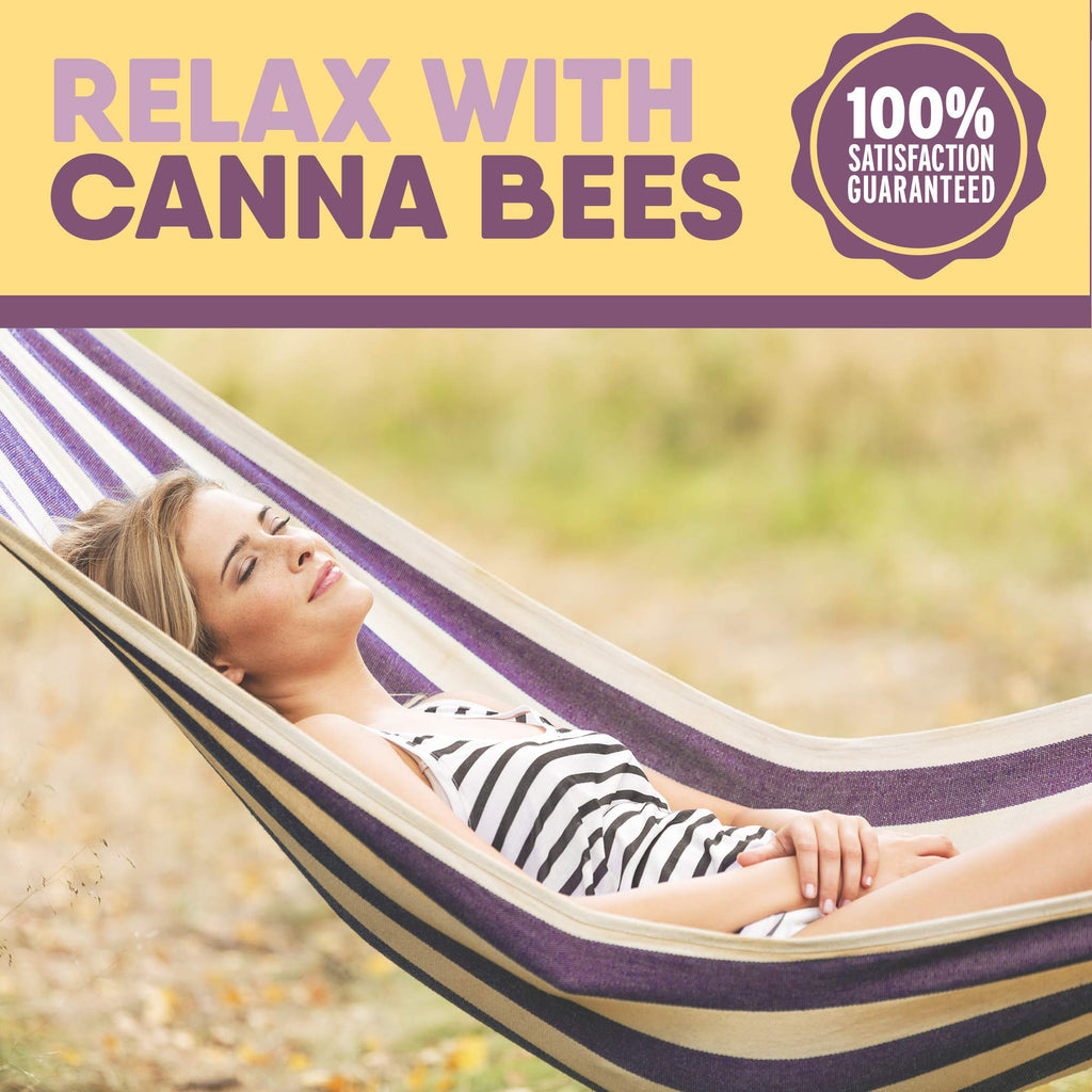 Bee Delightful Canna Bees | Raw Honey + Pure Hemp Extract (250mg) - 4.65oz.