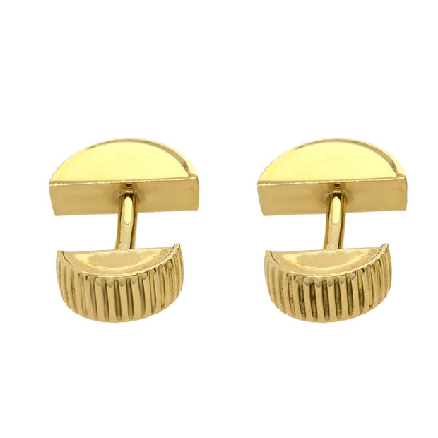 Tiffany & Co 18k Yellow Gold Cufflinks