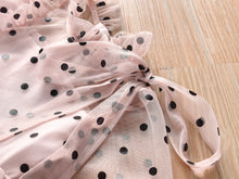 Load image into Gallery viewer, Sheer Polka Dot Dress
