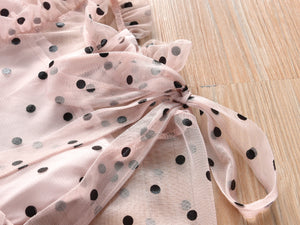 Sheer Polka Dot Dress