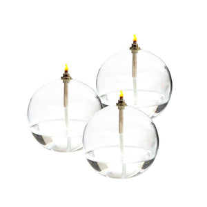 LAMPE HUILE SPHERE finition laiton