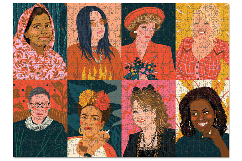 1000 Piece Puzzle – Hey Lady