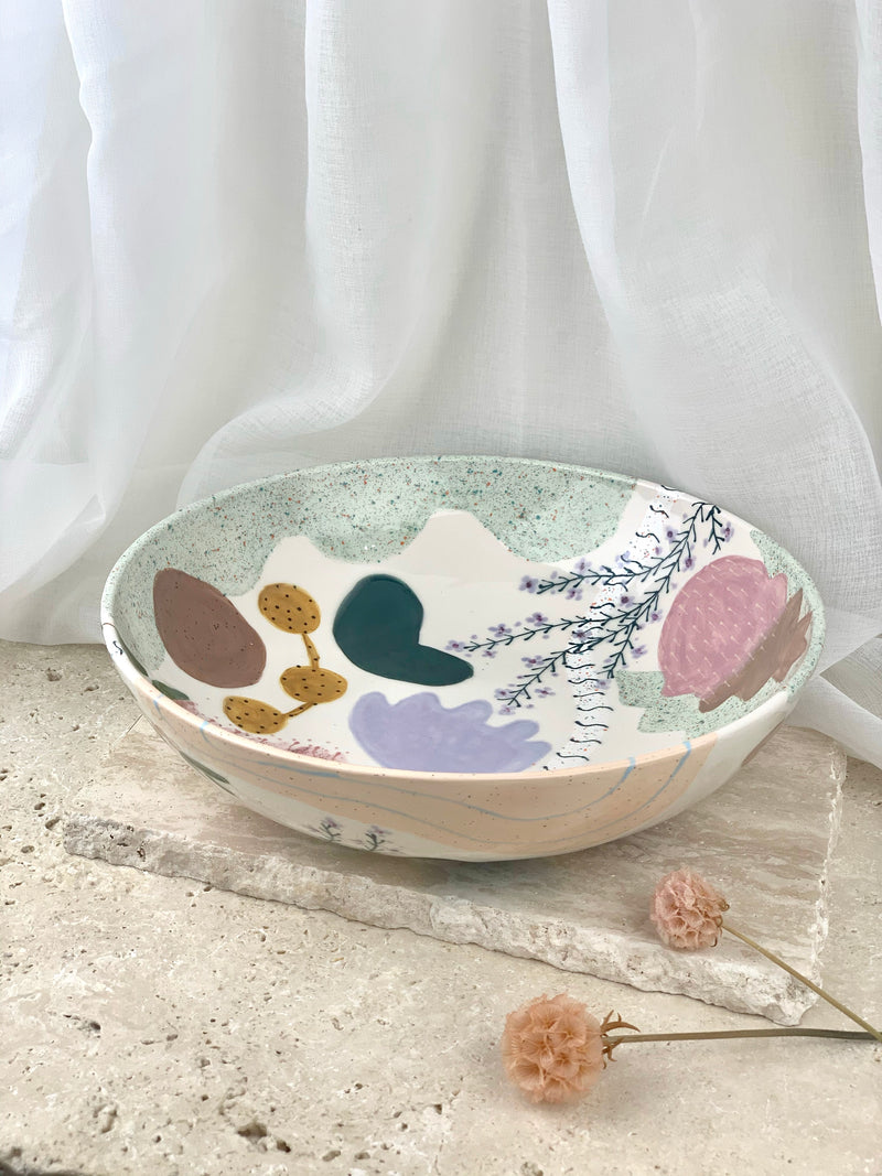 Serving Bowl - Native Flora 1
