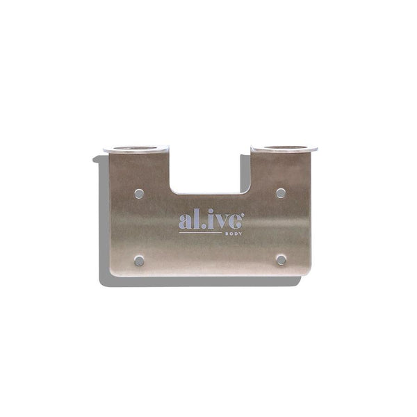 Double Wall Holder - Brushed Nickel