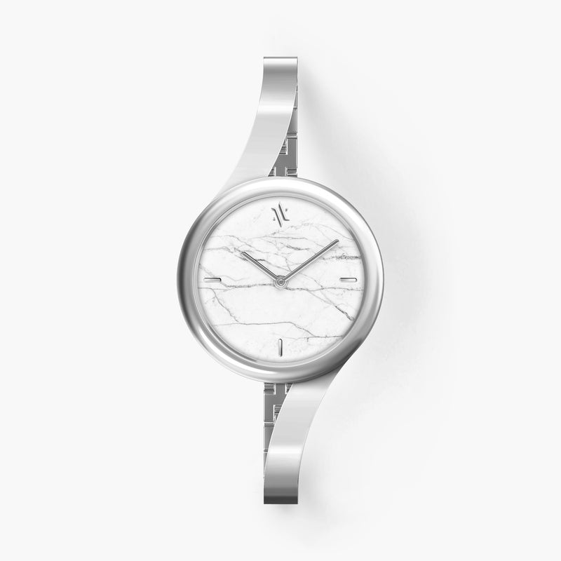 Claire White Marble Watches VANNA