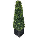 Artificial 81cm Boxwood Tower