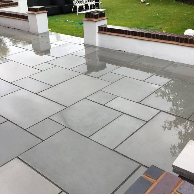 Sawn Grey Paving