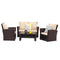Elle 4 Seat Sofa Set