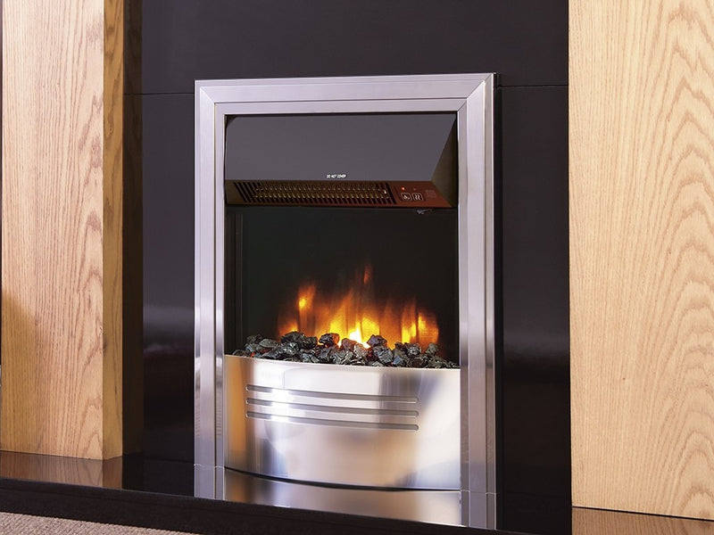 "Celsi 16"" Accent Infusion Electric Fire - Chrome"