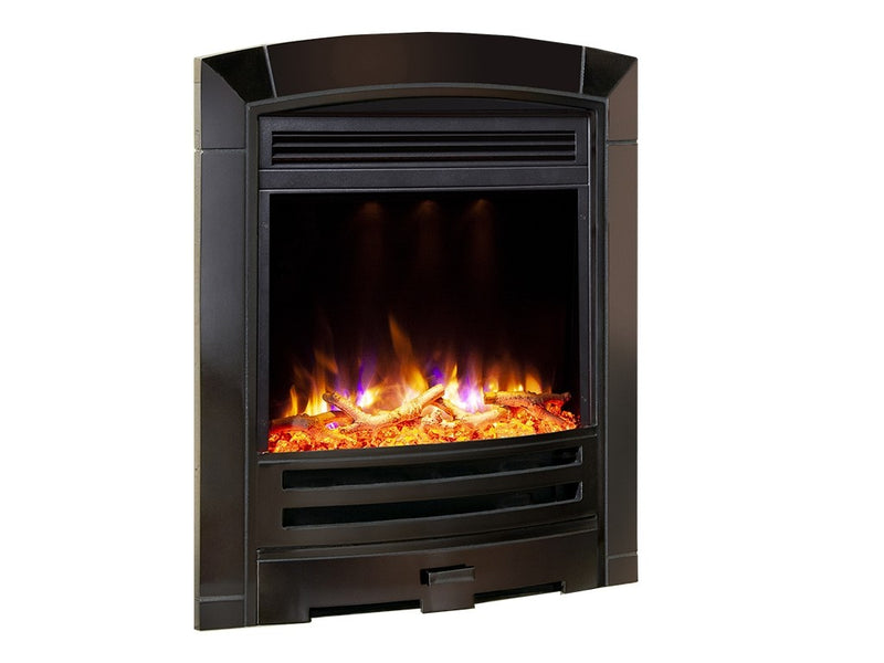 Celsi Electriflame XD Decadence Electric Fire - Black Nickel