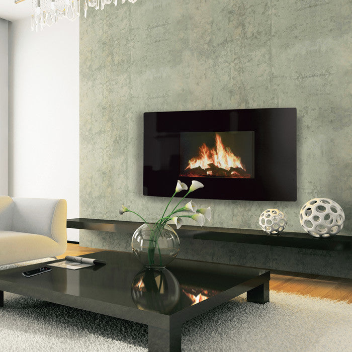 Celsi Puraflame Curved Wall Mounted Electric Fire