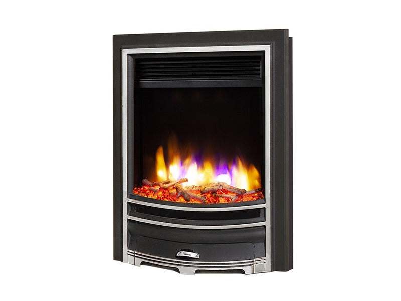 Celsi Ultiflame VR Arcadia Electric Fire - Silver