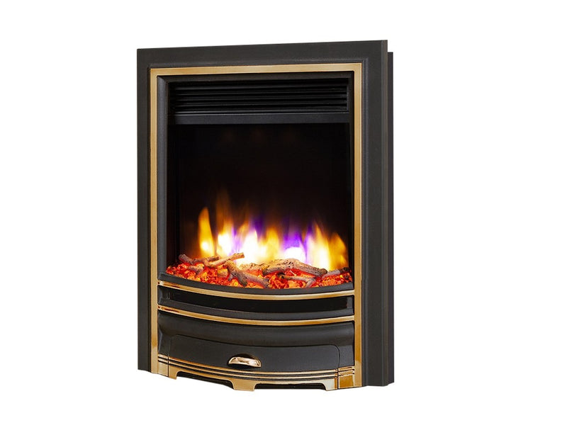 Celsi Ultiflame VR Arcadia Electric Fire - Gold