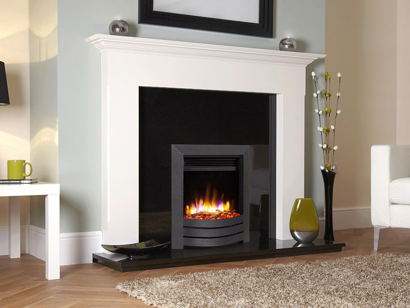 Celsi Ultiflame VR Camber Electric Fire - Black