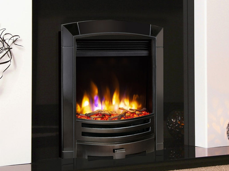 Celsi Ultiflame VR Decadence Electric Fire - Black Nickel