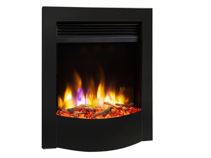 Celsi Ultiflame VR Endura Electric Fire - Black