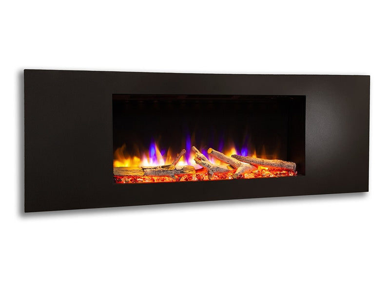 "Celsi Ultiflame VR Metz 33"" Wall Mounted Electric Fire - Black"