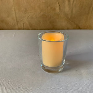 Rental Item - clear votive candle holders