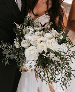 Fresh Flowers Bridal Bouquet