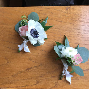 Fresh Floral Boutonnieres
