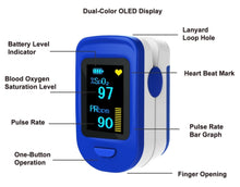 Load image into Gallery viewer, Dr. Pulse - Fingertip Pulse Oximeter