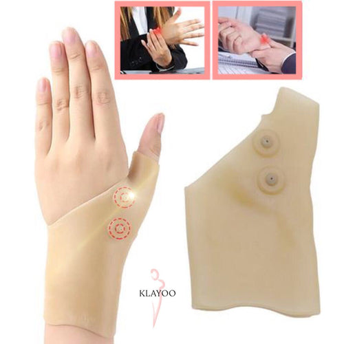 Happy Hands™ - Wrist & Thumb Magnetic Gloves - 1 Pc