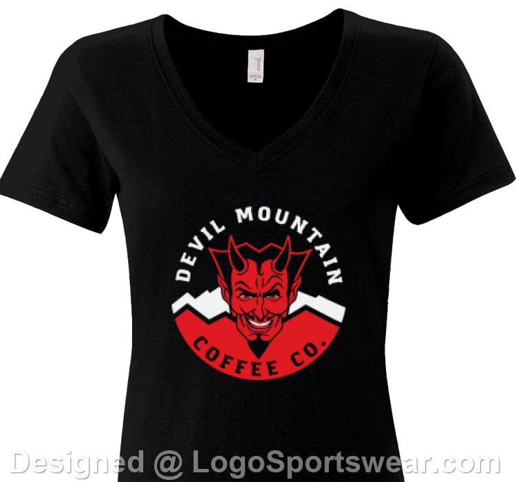 Women's DMC Red Logo Concert T