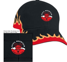 Load image into Gallery viewer, DMC Flex Fit Hat with Flames