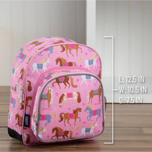 Load image into Gallery viewer, Wildkin 12 inch Backpack - Pink Horses