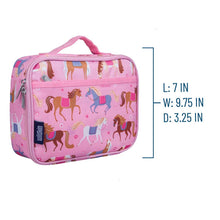 Load image into Gallery viewer, Wildkin Lunch Box - Pink Horses