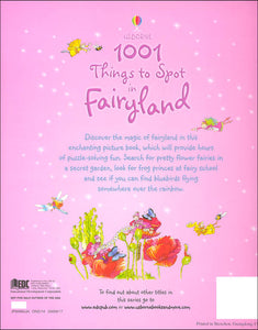 Usborne 1001 Things to Spot in Fairyland