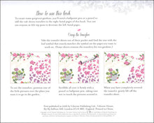Load image into Gallery viewer, Usborne Wild Garden Rub-Down Transfer Book