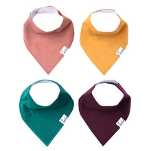 Load image into Gallery viewer, Copper Pearl Single Bandana Bibs - Jade